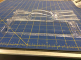 Straightlines Chevy '57 P/M w/scoop Lexan Drag body SL45 1/24 Mid-America
