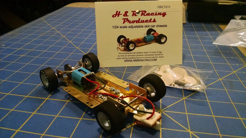 H&R CH10 Hard Body RTR Chassis foam tires 1/24 Slot Car from Mid America Raceway