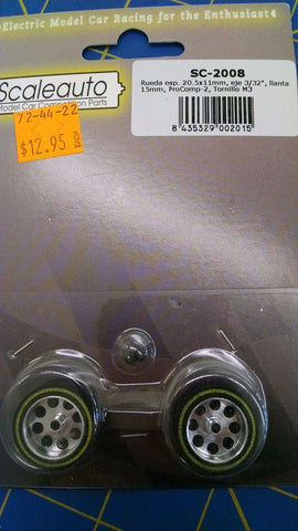 ScaleAuto SC-2008 20.5x11 Green from Mid America Naperville