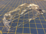Straightlines Mustang P/S Clear Lexan Drag body SL11 1/24 from Mid America