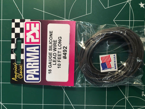 Superflex Silicone Lead Wire - 10 Feet Bulk - #492   From Mid America Raceway
