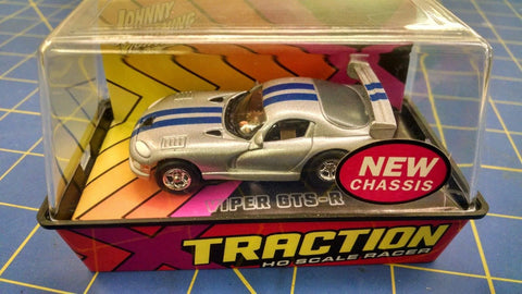 Johnny Lightning Silver w/ Blue Stripes Dodge Viper GTS-R HO AML Naperville