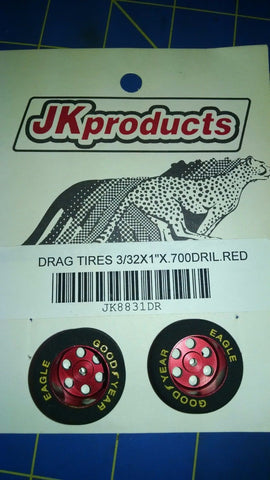 "JK 8831DR 3/32x1""x.700 Drilled Red from Mid-America Naperville"