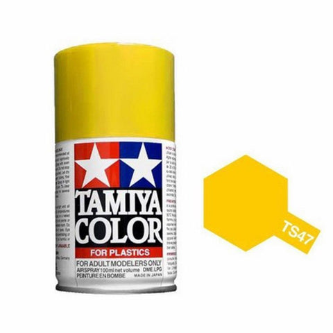 Tamiya TS-47 Chrome Yellow Spray Paint Can 3 oz 100ml 85047 Naperville