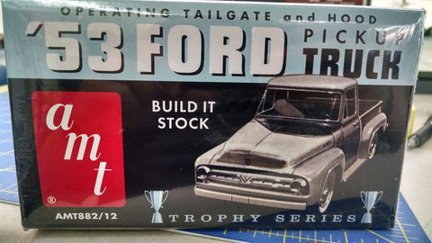 AMT '53 Ford Pickup Truck Model Kit -Mid-America Naperville