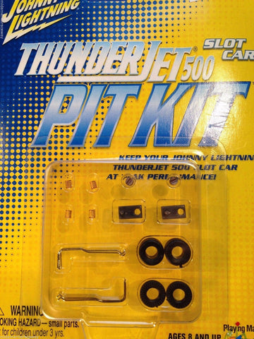 Johnny Lightning ~ ThunderJet Pit Kit ~ Slot Car Performance Pack ~ Fits Aurora