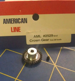 AML2529 Crown Gear 48p 29T Black 1/24 slot car from Mid America