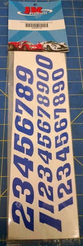JK 20031BL Stock Car Numbers Blue Decals from Mid America Naperville