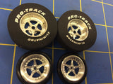 Pro Track 402B Star 1 3/16 x 300 Rear & Front Drag Tires MidAmerica Raceway