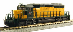 KATO N GAUGE 176-4819 SD40-2 EARLY S&NW 6858 from Mid-America Raceway Naperville