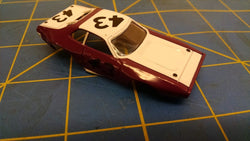 Purple / White ACME Stock Car American Line Body HO Mid America AML B461-PR