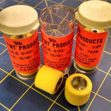 T'NT Products .790 tall for 1/8 axle 3 pair Yellow D11 Mid America Naperville