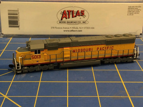 ATLAS 49396 SD-50 LOCOMOTIVE MISSOURI PACIFIC 5013 Mid-America Naperville
