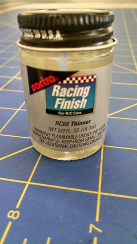 Pactra RC68 Paint Thinner 2/3 oz Mid America Naperville