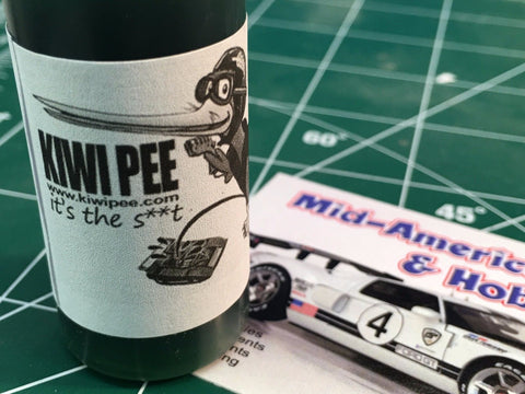Kiwi Pee Oil Lubricant Slot Car 1/24 Motor Performace Enhancer from Mid America