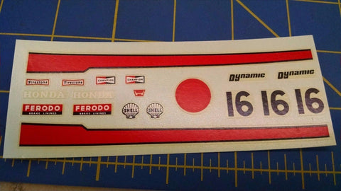 Dynamic 5502 16 Ferodo Honda Decals from Mid America Naperville