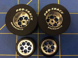 Pro Track N409J Magnum 1 5/16 x 500 Rear & Front Drag Tires MidAmerica Raceway