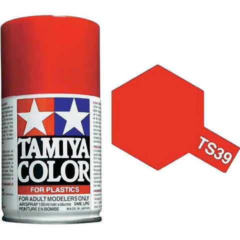 Tamiya TS-39 MICA RED Spray Paint Can 3 oz 100ml 85039 Mid-America Naperville