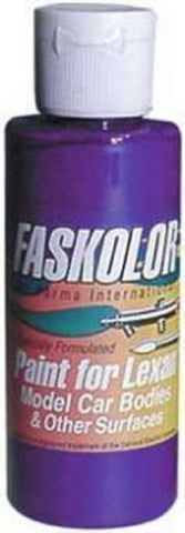 Parma Faskolor FASESCENT PURPLE #40152 Airbrush Paint Slot Car 1/24 Mid-America