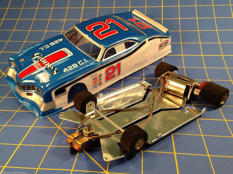 JK 4.5 inch Stocker with Blue Vintage Merc Cyclone  from Mid-America Raceway