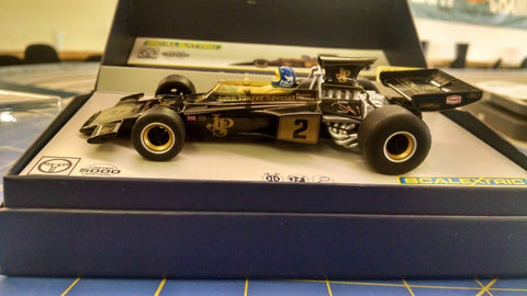 Scalextric C3703A LEGENDS Lotus 72E Ronnie Peterson 1/32 Slot Car Naperville