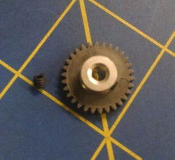 AML2530 Spur Gear 48P 30T Black 1/24 slot car from Mid America