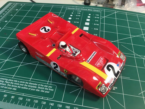 Plafit Ferarri  soft body 1/24 slot car from Mid America