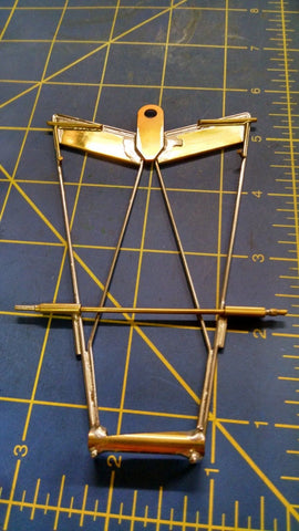 Redfox Piano Wire Chassis  1/24from Mid America Naperville