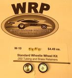 WRP W-10 Solid  Wheelie Bar Complete Kit 1/24 Drag Car from Mid-America Raceway