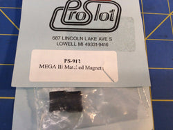 ProSlot Ps-912 Mega III Matched Magnets, C-Can from Mid America Raceway