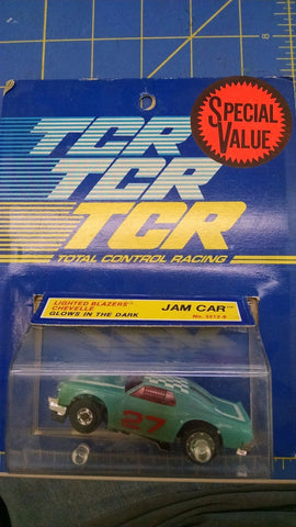 TCR 3212-8 Lighted Blazers Chevelle Jam Car Slot Less Car Mid America Naperville