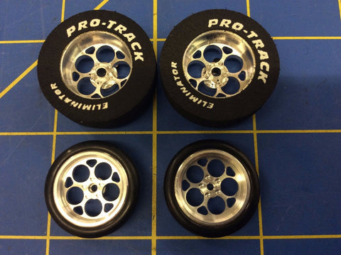 Pro Track 401J Magnum 1 1/16 x 300 Rear & Front Drag Tires MidAmerica Raceway