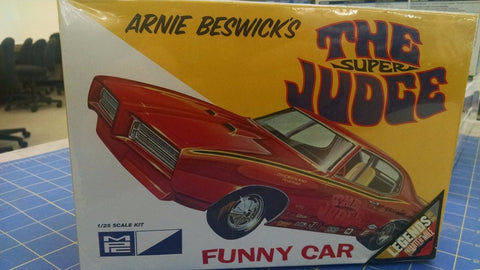 MPC Arnie Beswicks The Super Judge F/C Model Kit -Mid-America Naperville