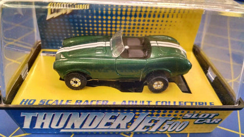 Johnny Lightning #04-04 Snake Eyes Cobra Green w/ White stripe HO AML Naperville