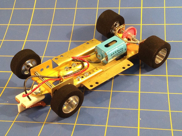 H&R CH01 Hard Body RTR Chassis foam tires 1/24 Slot Car from Mid America Raceway