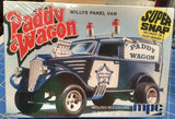 MPC 704 Paddy Wagon Willys Panel Van Model Kit Mid America