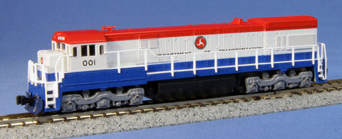 KATO N GAUGE 176-0938 U30C Department of Transportation 001 from Naperville