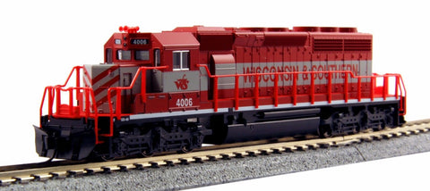 KATO N GAUGE 176-4815 SD40-2 EARLY WITH DYNAMIC BRAKE WS #4006 from Naperville