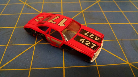 Pink 70 Stock Car American Line Body HO Mid America AML B453-P