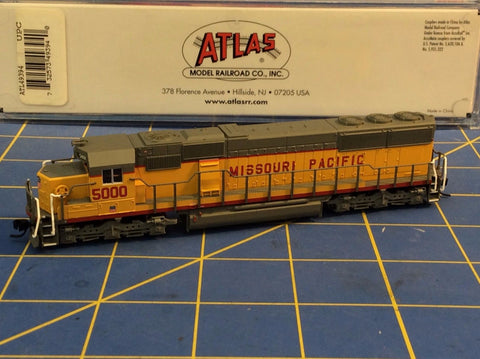 ATLAS 49394 SD-50 LOCOMOTIVE MISSOURI PACIFIC 5000 Mid-America Naperville