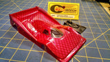 Champion Custom Paint 281P Porsche w/Wings Red 1/24 slot car Mid America Nape