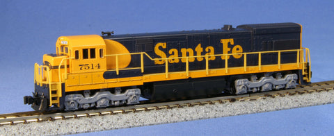 KATO N GAUGE 176-0932 U23C AT&SF 7514 from Mid-America Raceway Naperville