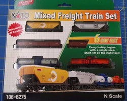KATO N GAUGE 106-6275 Mixed Freight Train Set from Mid-America Naperville