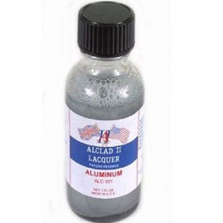 Alclad II ALUMINUM 1oz (for Plastic Kits) ALC101 101 Metal Color Airbrush Paint