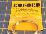 Koford M333 5% Silver Solder w/ Flux Core 1/24 Slot Car from Mid America Raceway