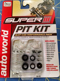 AW Auto World Super III Pit Kit HO Slot Car Performance Pack #00301 Mid America