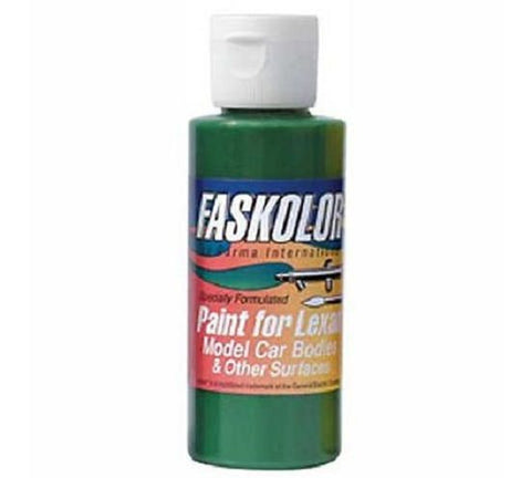 Parma Faskolor FASLUCENT GREEN #40305 Airbrush Paint Slot Car 1/24 Mid-America