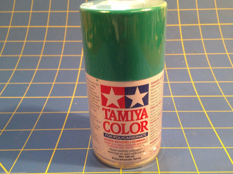 Tamiya PS-54 Cobalt Green  Lexan Spray 3oz Paint # 86054 Mid-America