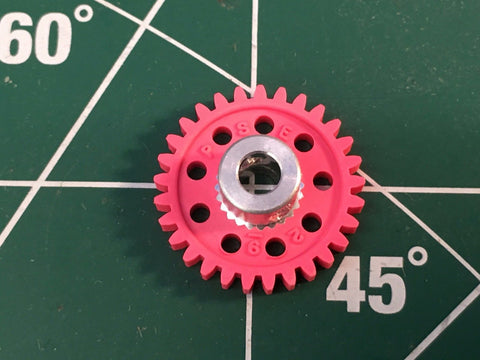 Parma #70129 1/8 axle 48 Pitch 29 Tooth Spur Gears 1/24 slot Mid America Raceway