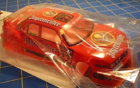 JK Custom Painted DTM Alfa Jagermeister Orange 1/24 slot car body Mid America